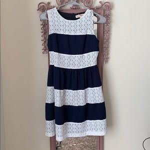 Navy and white Alter'd State dress